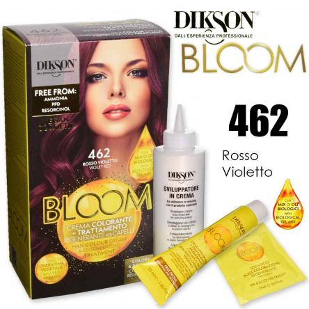 Dikson bloom crema colorante con cheratina 462 rosso violetto